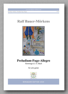 Preludium-Fuge-Allegro by Ralf Bauer-Mörkens - preview of the cover