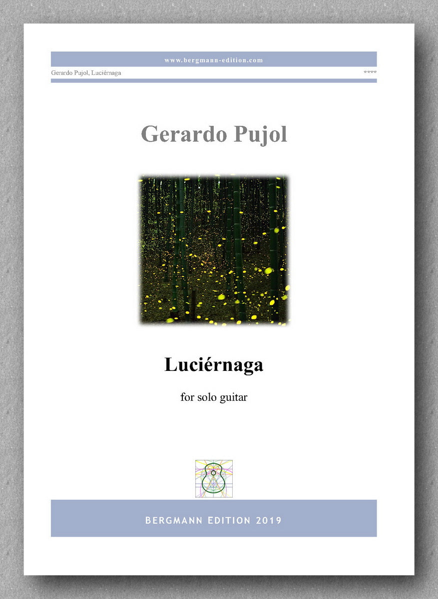 Gerardo Pujol, Luciérnaga - preview of the cover