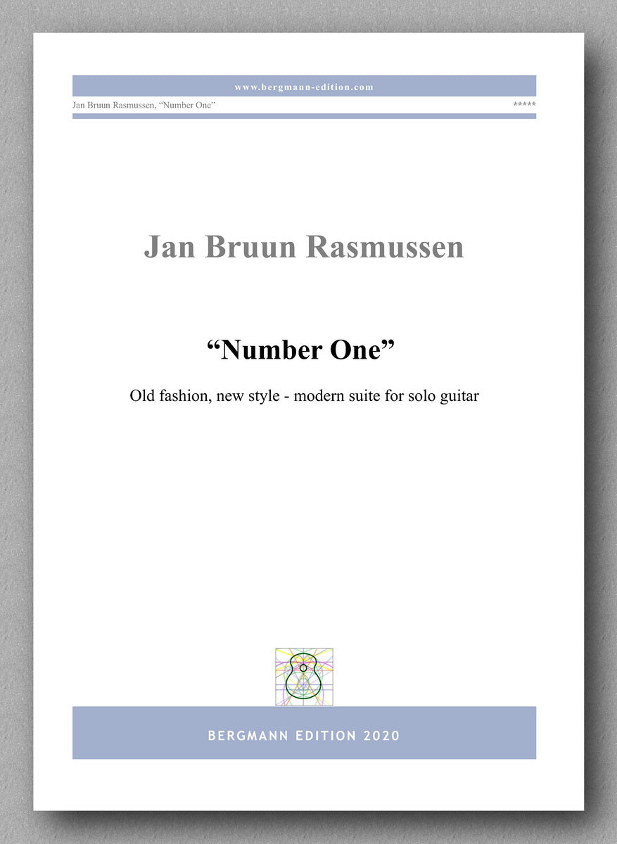 Rasmussen, Number One - preview of the cover