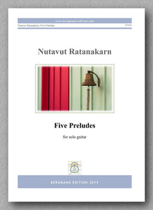 Five Preludes by Nutavut Ratanakarn - preview of the cover