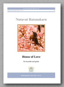 Nutavut Ratanakarn, House of Love - preview of the cover