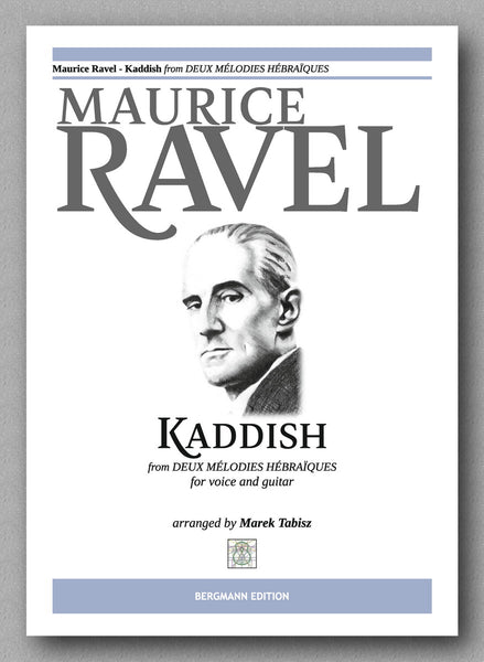 MAURICE RAVEL - KADDISH - preview of the cover