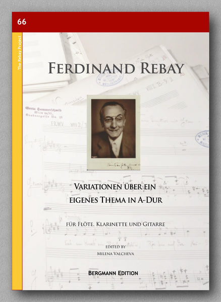 Rebay [066], Variationen über ein eigenes Thema in A-Dur - preview of the cover