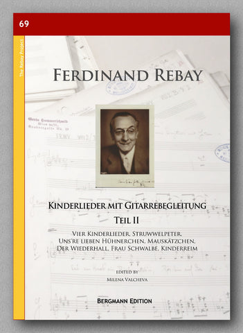 Rebay [069], Kinderlieder mit Gitarrebegleitung 2. Teil - preview of the cover