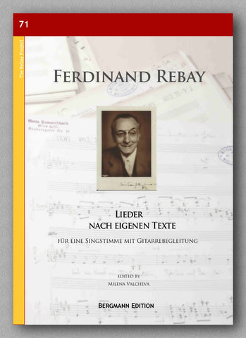 Rebay [071], Lieder nach eigenen Texte - preview of the cover