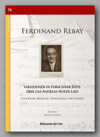 Rebay [076], Variationen in Form einer Suite -  preview of the cover