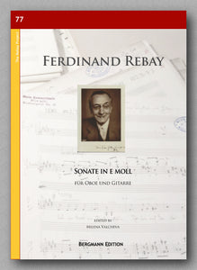 Rebay [077], Sonate in e moll - preview of the cover