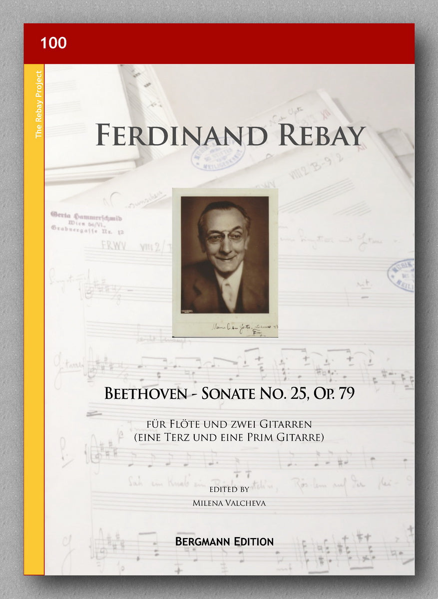 Rebay [100], Beethoven Op. 79, No. 25 - Preview of the cover