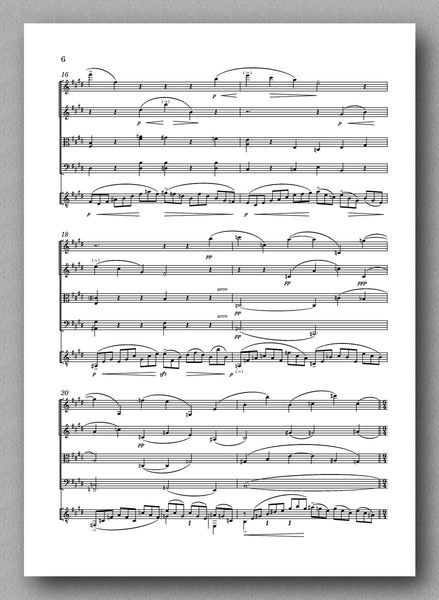 Rebay [106], Kleine Fantasie - Preview of the score 3