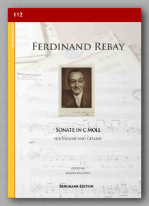 Rebay [112], Sonate in c moll - Preview of the cover