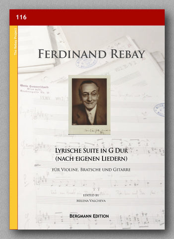 Rebay [116], Lyrische Suite in G Dur - cover