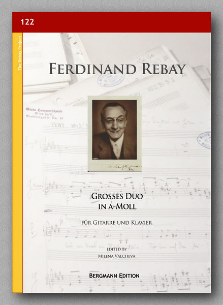 Rebay [122], Großes Duo in a-Moll - preview of the cover