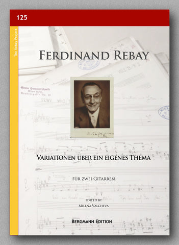 Rebay [125], Variationen über ein eigenes Thema - preview of the cover