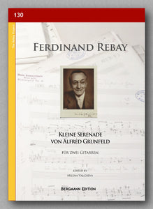 Rebay [130], Kleine Serenade von Alfred Grunfeld - preview of the cover