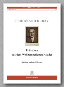 Rebay [146], Präludium aus dem Wohltemperierten Klavier - preview of the cover