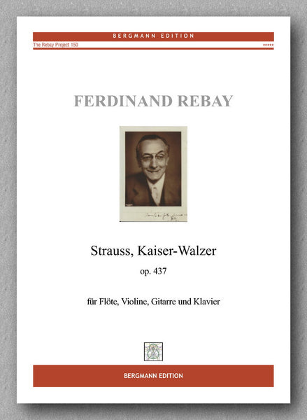 Rebay [150], Brahms, Kaiser-Walzer - preview of the cover