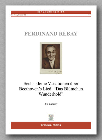 Rebay [153], Sechs kleine Variationen - preview of the cover