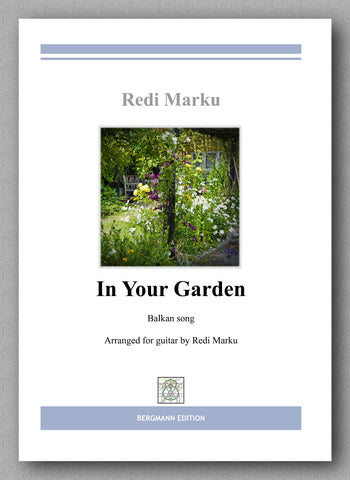 """In Your Garden"" by Redi Marku - preview of the cover"