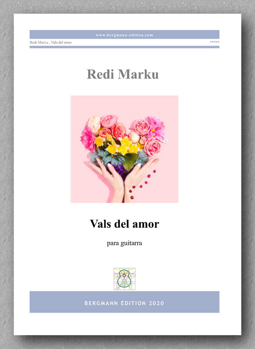 Vals del amor by Redi Marku - preview of the cover