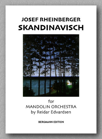 Skandinavisch by Josef Rheinberger - preview of the cover
