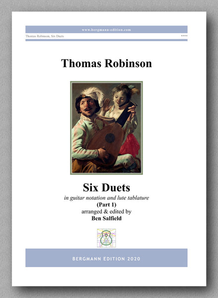 Thomas Robinson, Six Duets - preview of the cover