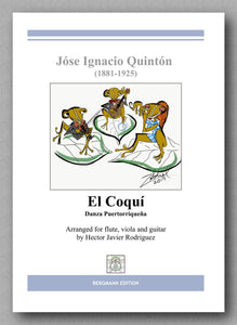 Rodriguez-Quintón, El Coquí - preview of the cover