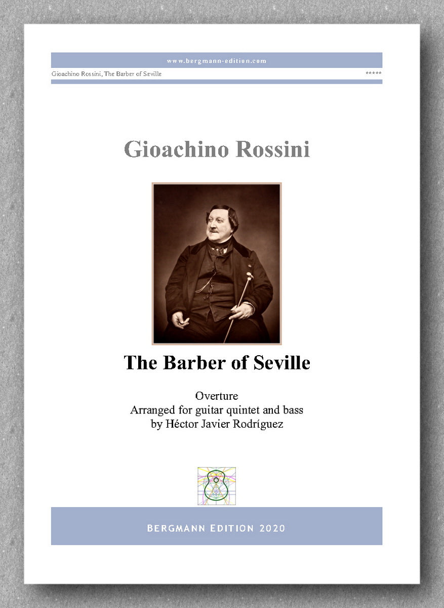 Gioachino Rossini, The Barber of Seville - preview of the cover
