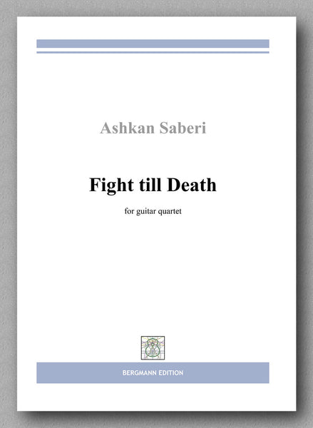 Ashkan Saberi, Fight till Death - preview of the cover