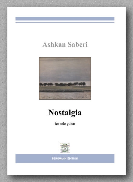 Ashkan Saberi, Nostalgia - preview of the cover