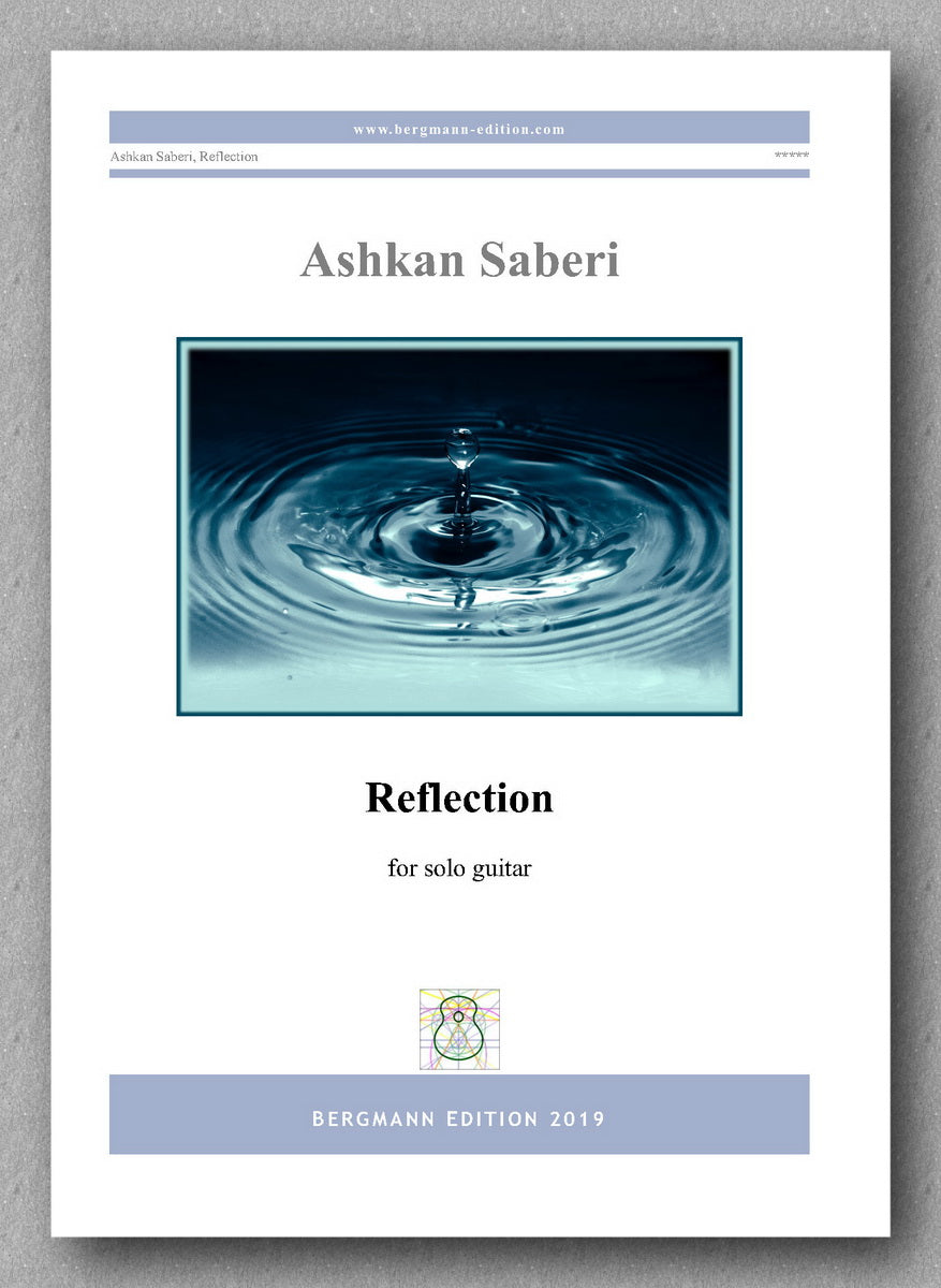 Ashkan Saberi, Reflection - preview of the cover