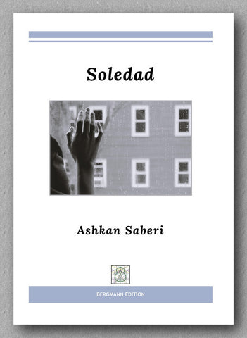 Ashkan Saberi, Soledad - preview of the cover