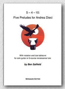 Salfield, Five Preludes