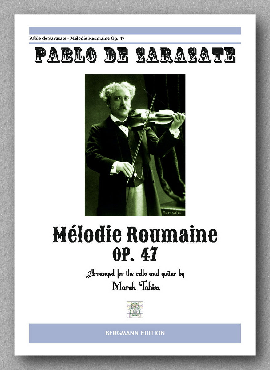 Sarasate-Tabisz, Melodie Roumaine Op 47 - preview of the cover