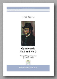 Erik Satie, Gymnopedy No.1 and No. 3 - cover