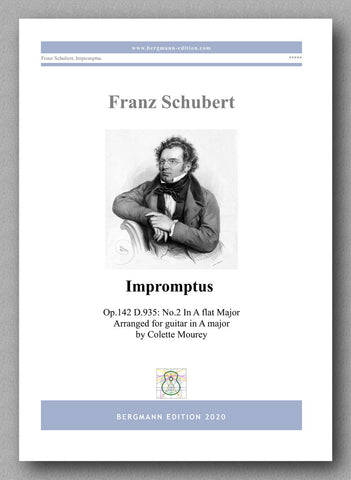 Franz Schubert, Impromptus - preview of the cover