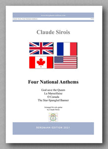 Four National Anthems -cover