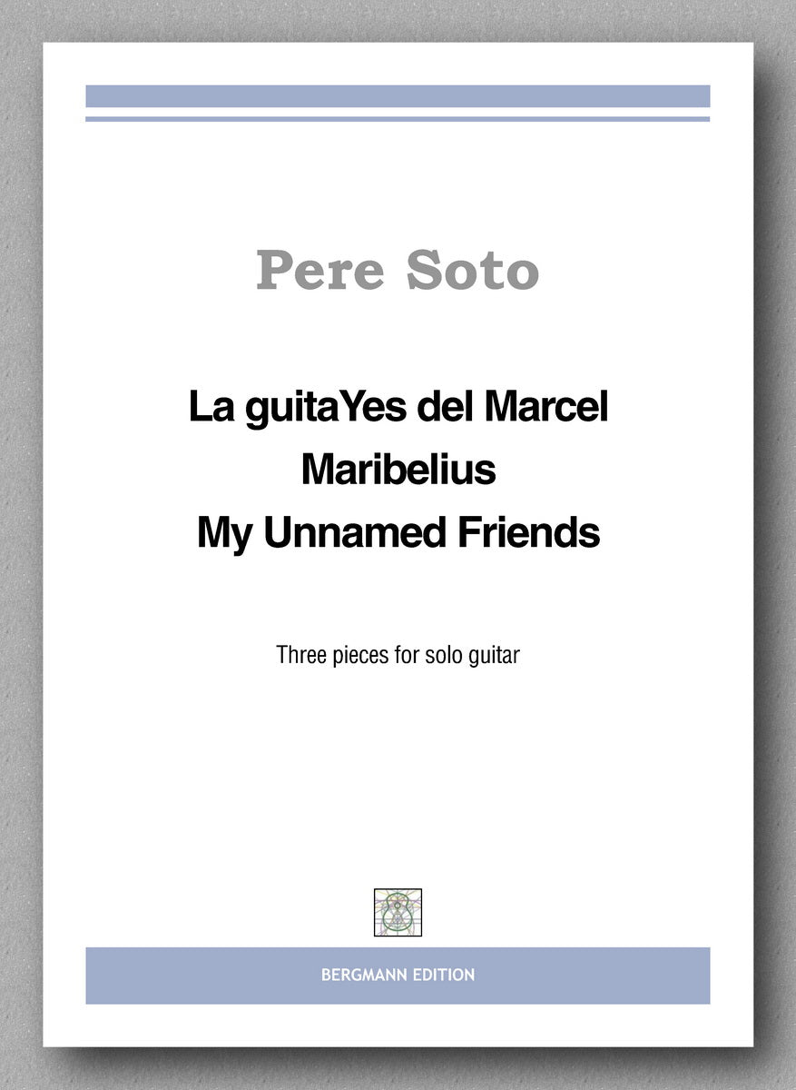 Three pieces for solo guitar - preview of the cover.