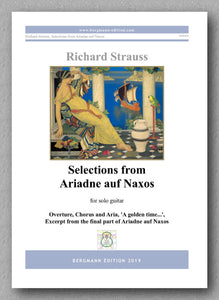 Richard Strauss,  Selections from Ariadne auf Naxos - preview of the cover