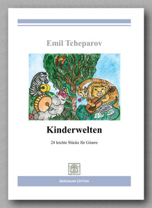 Tcheparov, Kinderwelten - preview of the cover