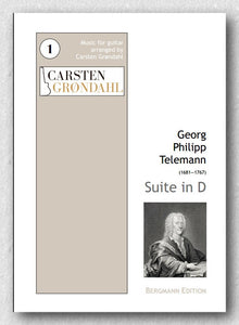 Georg Philipp Telemann (1681 — 1767), Suite in D - preview of the cover