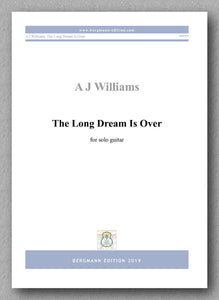 Andrew Williams, The Long Dream Is Over - preview of the cover