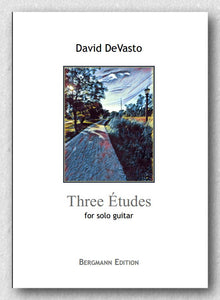 David DeVasto - Three Etudes - preview of the cover