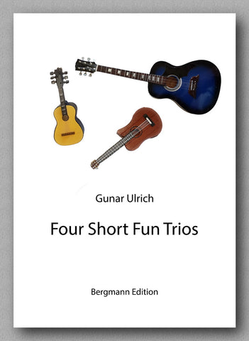 Ulrich, Four Short Fun Trios - preview of the cover