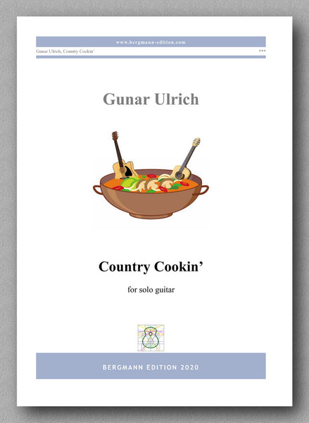 Gunar Ulrich, Country Cookin' - preview of the cover