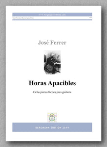 José Ferrer, Horas Apacibles - preview of the cover