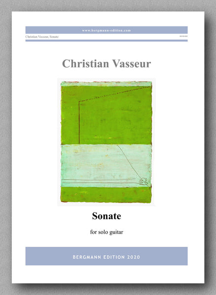 Sonate by Christian Vasseur - preview of the cover