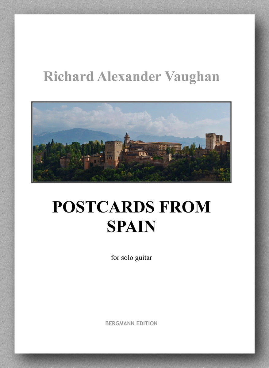 Vaughan - Postcards From Spain - Preview of the cover