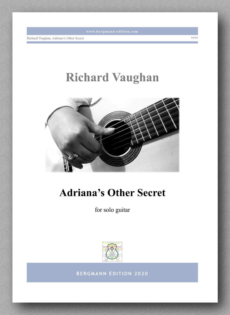 Adriana's Other Secret by Richard Vaughan - preview of the cover