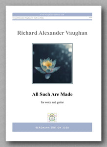 All Such Are Made by Richard Vaughan - preview of the cover