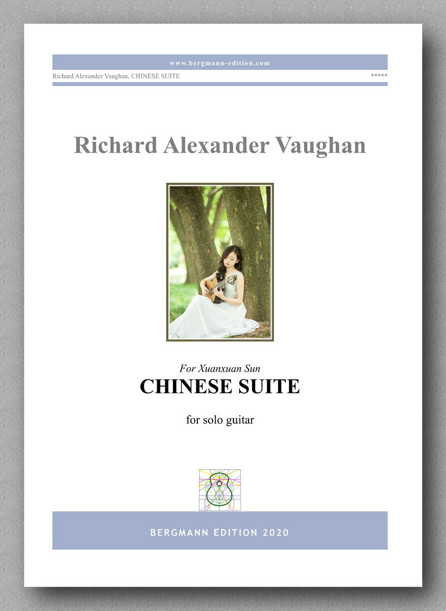 Richard Alexander Vaughan, Chinese Suite - preview of the cover